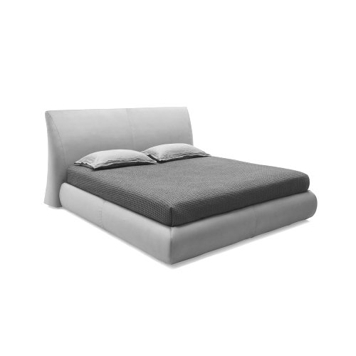 Michigan: Modern Fully-Upholstered Storage Bed