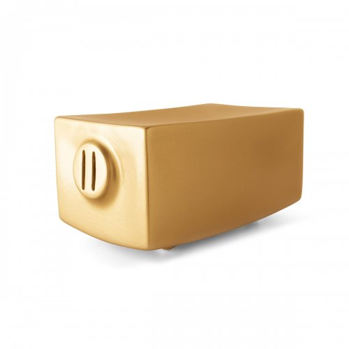 TEO DORO Storage box ceramic MATT GOLD