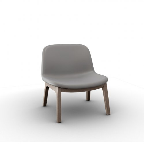 COLLEGE Frame P27 ash. NATURAL  Seat D04 soft leather TAUPE