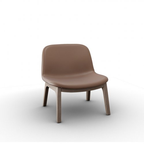 COLLEGE Frame P27 ash. NATURAL  Seat L01 soft leather ANTELOPE BROWN