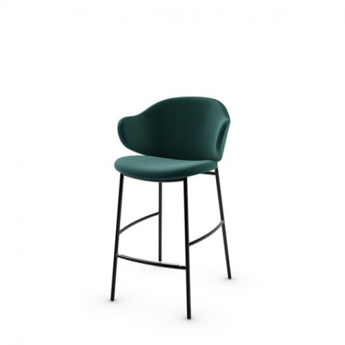 CS2038 HOLLY Frame P1L met. BLACK NICKEL Seat S0H Venice FOREST GREEN