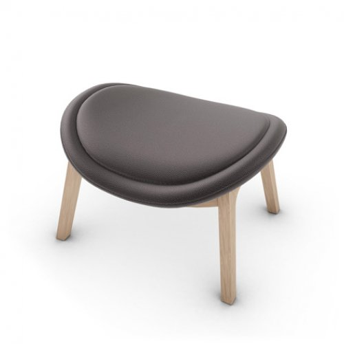 CS3373-W 1320 LAZY Frame P27 ash. NATURAL Seat SQ1 Malmo ANTHRACITE GREY