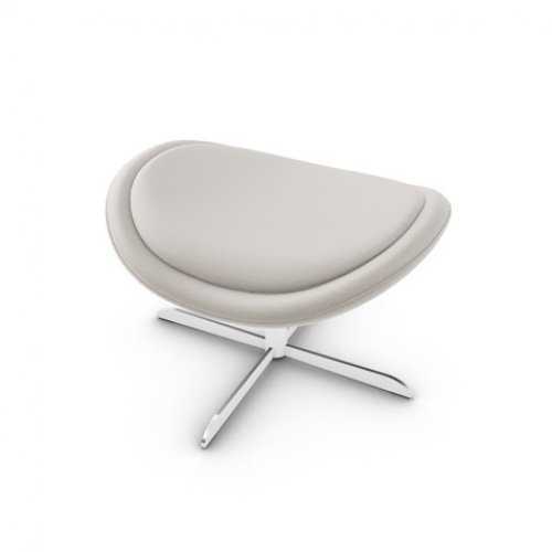 CS3373-C 1320 LAZY Frame P66 met. SATIN FINISHED NICKEL Seat SQ5 Malmo SAND