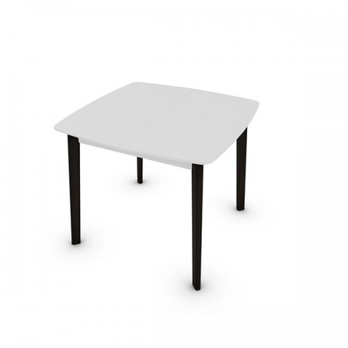 CS4063-Q 90 CREAM TABLE Legs P12 ash. SMOKE Frame P94 lacq. MATT OPTIC WHITE Top P94 lacq. MATT OPTIC WHITE
