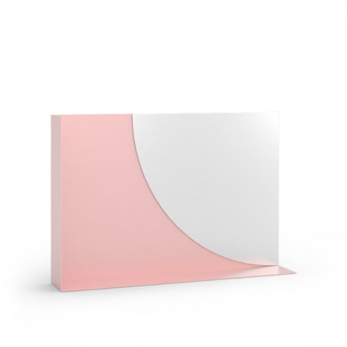 CS5109 KIM Frame P2L met. MATT PALE PINK Other parts GMR glass MIRROR