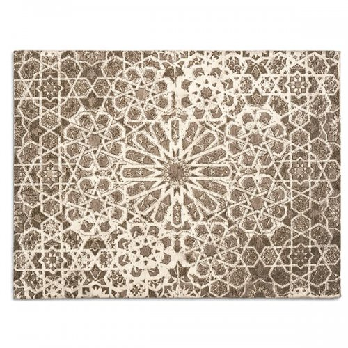 CS7166-A ARABIA Rug M1Q chenille/cotton ECRU
