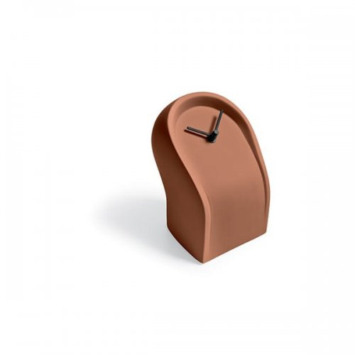 CS7199 OSVALDO Clock M4L ceramic MATT BRICK RED