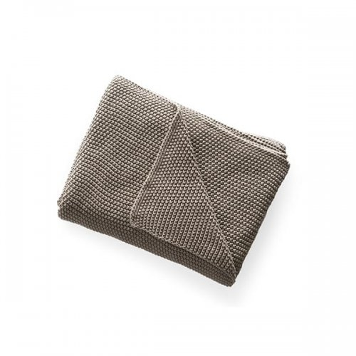 CS7202 CANTWELL Throw M58 cotton TAUPE