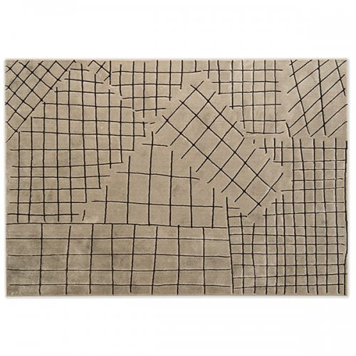 CS7206-A COLLAGE Rug M5G Polypropylene/polyester BEIGE/BROWN