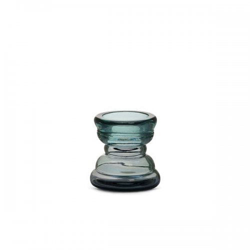 CS7250-B LUMINO Candle holder M6C glass TRANSPARENT SMOKE GREY