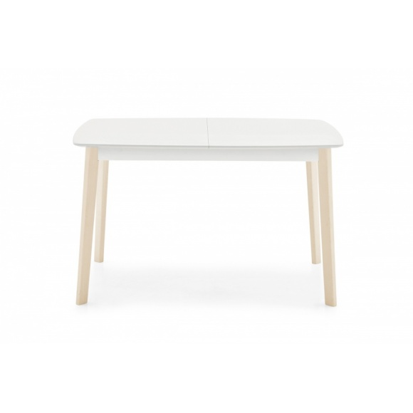 Cream (130): Extendable Dining Table - Seats 6