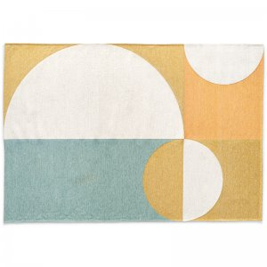 graceful: Geometric-Pattern Rug